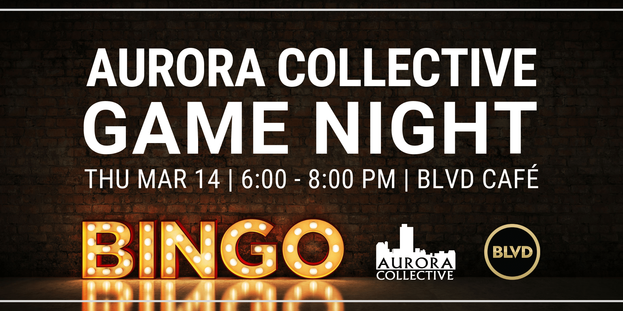 Aurora Collective Game Night